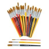 Classmates Nylon Paint Brush Assorted Classpack - Pack of 30