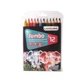 Lakeland Jumbo Colouring Pencils - Pack of 12