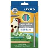 Lyra Super Ferby Metallic Triangular Colouring Pencils