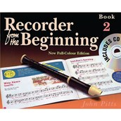 Recorder from the Beginning Method Books - Pupil's Book 2 + CD