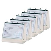 Snopake A4 Ring Binder Easel Electra Assorted - Pack of 5