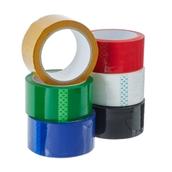 Classmates Coloured Polypropylene Tape Assorted  50mm 66m - Pack of 6