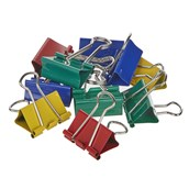 Classmates Fold Back Clip  Assorted 32mm - Pack of 10