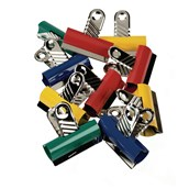 Classmates Letter Clips  Assorted 60mm - Pack of 10