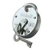 Walsall ZP 68mm (2¾in) Padlock with 2 Keys