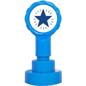 Xclamations Stamp - Blue Star