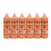 Classmates Ready Mixed Paint - 600ml - Orange - Pack of 6