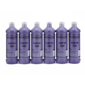 Classmates Ready Mixed Paint - 600ml - Purple - Pack of 6