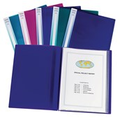 Snopake Electra Display Book A3 Assorted - Pack of 5