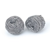 Stainless Steel Scourer - pack of 2