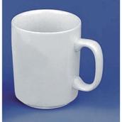White Vitrified Mug - 280ml - pack of 12