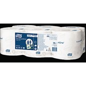 Tork SmartOne® Toilet Roll - 2 Ply - pack of 6