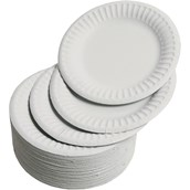 Paper Plates - 180mm - pack of 1000