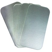 Foil Containers Lids 197 x 105mm - Pack of 500