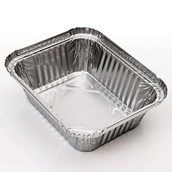 Foil Containers 147 x 116mm - Pack of 1000