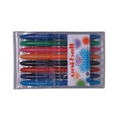 Uni-ball Signo Gelstick Rollerball Pen - Assorted - Pack of 8