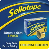 Sellotape Original - 48mm x 66m - Pack of 6