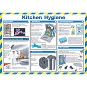 Laminated Kitchen Hygiene Poster 420 x 590mm