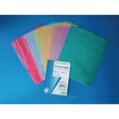 Flipfile Recycled Cutflush Folder A4 Clear - Pack of 25