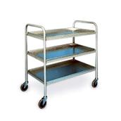 Mild Steel Trolley - 3 tier