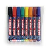 Edding 360 Whiteboard Marker Assorted, Bullet Tip - Pack of 8
