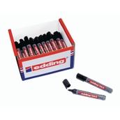 Edding 363 Whiteboard Marker Black, Chisel Tip - Pack of 50
