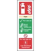 Fire Extinguisher Sign - AFF Foam