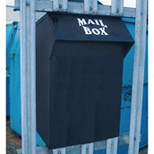 Wybone Large Capacity Mailbox - Black