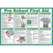 Pre-School First Aid Poster