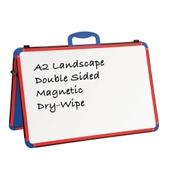 A2 Landscape Folding Wedge – Red/Blue
