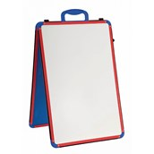 A2 Portrait Folding Wedge – Red/Blue