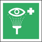 Eye Emergency Signs - 200 x 150mm, S/A