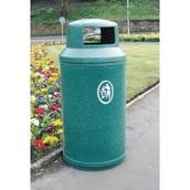 Universal Litter Bin - Emerald