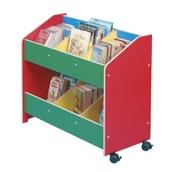 Mobile Book Stand - Multi coloured