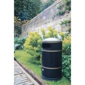 100L Heritage Lite Hooded Litter Bin - Black