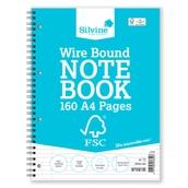 Silvine FSC Notebooks - A4 - Pack of 5