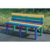 Reston Rainbow Junior Bench