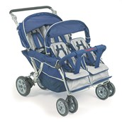 Angeles® Bye-Bye Stroller 4-Seater