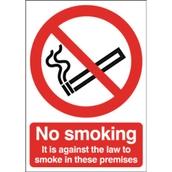 Safety Signs - No Smoking - 210 x 148mm PVC