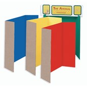 Presentation Boards - 1218 x 914mm - Assorted - Pack of 4
