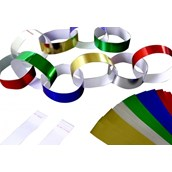 Paper Chains - Metallic - Pack of 100