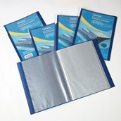 Rapesco Presentation Display Book A4 Blue - Pack of 5