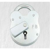 FB1 51mm Padlock with 1 x Key