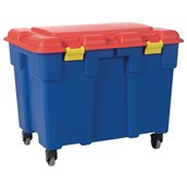 THIS ITEM IS SUPPLIED WITHOUT CASTERS/WHEELS - Giant Storage Trunk - 185L