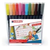 Edding Colourpen Fine - Portrait Colours - Pack of 12