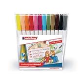 Edding Colourpen Broad - Portrait Colours - Pack of 12