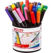 Edding Colourpen Fine - Assorted - Pack of 42