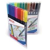 Edding Colourpen Fine - Assorted - Pack of 24