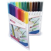 Edding Colourpen Broad - Assorted - Pack of 24