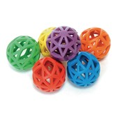Flexi Balls - Assorted - 70mm - Pack of 6